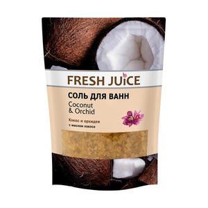 Kókusz és Orchidea Fürdősó Fresh Juice, 500 g kép