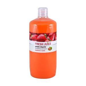 Krémes Folyékony Szappan Rizstejjel, Eper és Guava Kivonatokkal Fresh Juice, 1000 ml kép