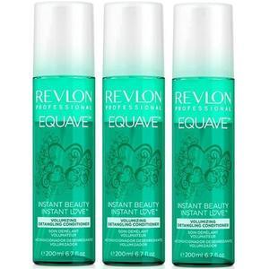 Balzsam Csomag a Volumenre, 3 db. - Revlon Professional Equave Instant Beauty Volumizing Detangling Conditioner 200 ml kép