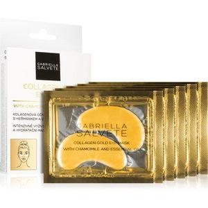 Gabriella Salvete Face Mask Collagen Gold szemmaszk a duzzanat és sötét karikák ellen kollagénnel 5x2 db kép