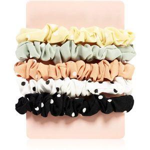 BrushArt Hair Band hajgumik 5 db Dots Slim kép