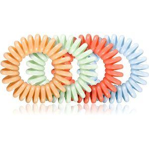 BrushArt Hair Hair Rings hajgumik Pastel Mix 4 db kép