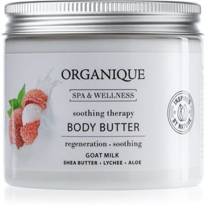 Organique Soothing Therapy tápláló vaj a testre kecsketejjel 200 ml kép