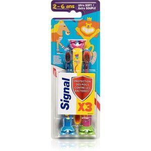 Signal Kids fogkefe gyermekeknek (takarékos kiszerelés) kép