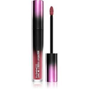 MAC Cosmetics Love Me Liquid Lipcolour krémes rúzs szatén finish-el árnyalat Hey, Frenchie 3, 1 ml kép