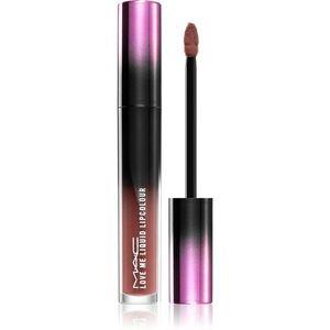 MAC Cosmetics Love Me Liquid Lipcolour krémes rúzs szatén finish-el árnyalat Laissez-Fiare 3, 1 ml kép