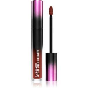 MAC Cosmetics Love Me Liquid Lipcolour krémes rúzs szatén finish-el árnyalat Batted Breath 3, 1 ml kép