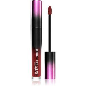 MAC Cosmetics Love Me Liquid Lipcolour krémes rúzs szatén finish-el árnyalat Whatta Doll 3, 1 ml kép