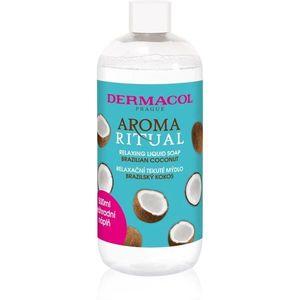 Dermacol Aroma Ritual Brazilian Coconut folyékony szappan utántöltő 500 ml kép