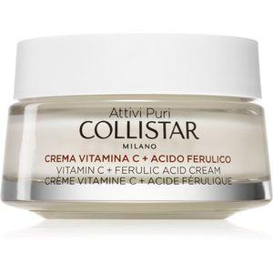 Collistar Attivi Puri® Vitamin C + Ferulic Acid Cream élénkítő krém C vitamin 50 ml kép
