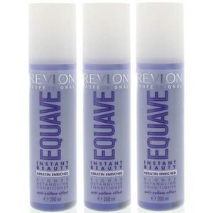 Leave In Hajbalzsam Csomag, 3 db. - Revlon Professional Equave Instant Beauty Blonde Detangling Conditioner 200 ml kép