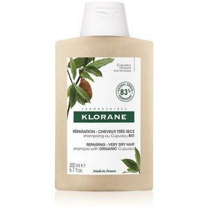Klorane Cupuaçu Bio Bio tápláló sampon száraz és sérült hajra 200 ml kép