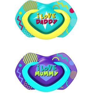 Canpol babies Neon Love C 18m+ cumi Blue 2 db kép