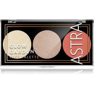 Astra Make-up Palette Glow Garden bőrvilágosító paletta árnyalat Peach Paradox 7, 5 g kép