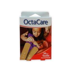 Elsősegélynyújtó Tapaszok Textil - Octamed OctaCare Textile First Aid Plaster, 19 x 72mm, 20 db. kép