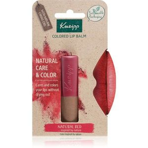 Kneipp Natural Care & Color tonizáló ajakbalzsam árnyalat Natural Red 3, 5 g kép