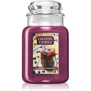 Country Candle Blueberry Lemonade illatos gyertya 680 g kép