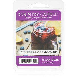 Country Candle Blueberry Lemonade illatos viasz aromalámpába 64 g kép