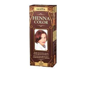 Színező Balzsam Henna Kivonattal Henna Sonia, Nr.12 Cherry 75 ml kép