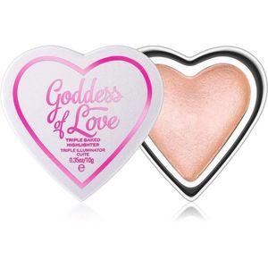 I Heart Revolution Goddess of Love világosító púder árnyalat Goddes of Faith 10 g kép