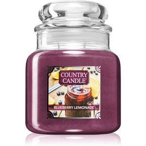 Country Candle Blueberry Lemonade illatos gyertya 453 g kép