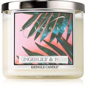 Kringle Candle Gingerlily & Palm illatos gyertya I. 411 g kép